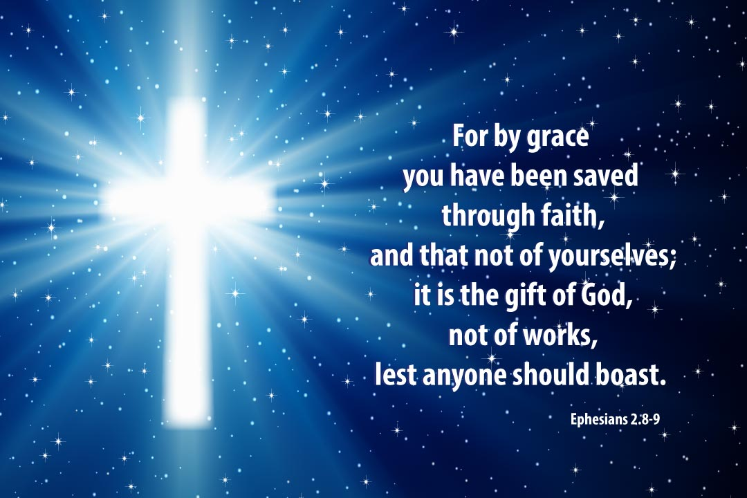 Image result for ephesians 2:8-9 image